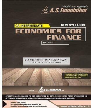 CA Inter Economics For Finance - Regular By CA Vinod Kumar Agarwal