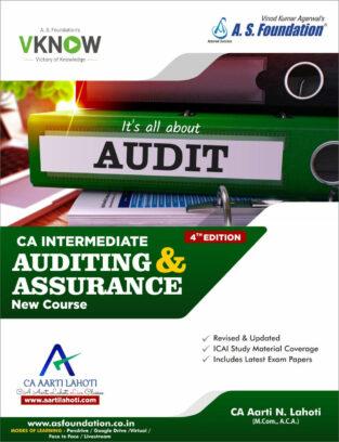 CA Inter Auditing & Assurance - Regular New Syllabus By CA Aarti Lahoti