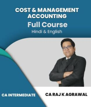 Video Lecture CA Inter Cost & Management Accounting Raj K Agrawal
