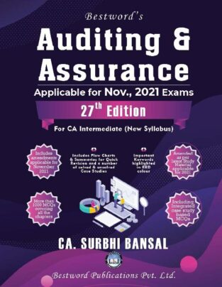 Bestword CA Inter Auditing and Assurance for New Syllabus Surbhi Bansal