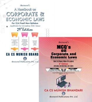 Bestword CA Final Combo Law Handbook MCQs Book Munish Bhandari