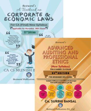 Bestword CA Final Law and Audit By Munish Bhandari and Surbhi Bansal