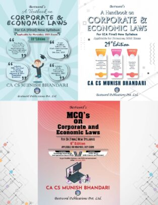 Bestword CA Final Law Textbook Handbook MCQ s Book Munish Bhandari