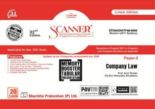 Shuchita Scanner CS Executive Company Law Arun Kumar