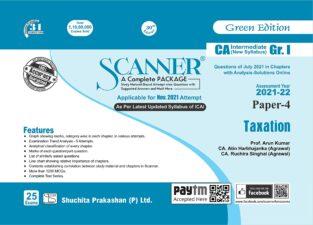 Shuchita Prakashan Solved Scanner Paper-4 Taxation Raj K Agarwal