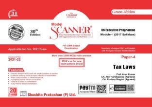 Solved Scanner CS Executive Paper-4 Tax Laws Arun Kumar
