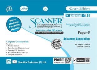 Shuchita Prakashan CA Inter Group New Syllabus Advanced Accounting
