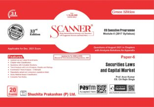 Shuchita Solved Scanner Securities Laws and Capital Market Arun Kumar
