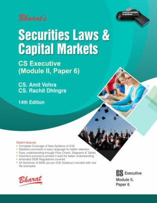 Bharat CS Executive Securities Laws and Capital Market by Amit Vohra.