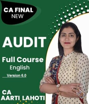 Video Lecture CA Final New Syllabus Advanced Auditing By Aarti Lahoti