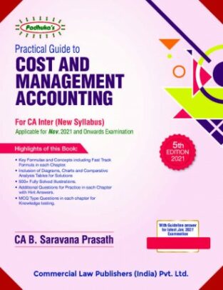Padhuka Practical Guide to Cost Management Accounting By B Saravana