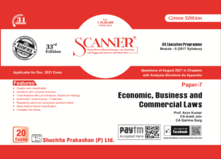 Shuchita Solved Scanner Economic, Business and Commercial Laws