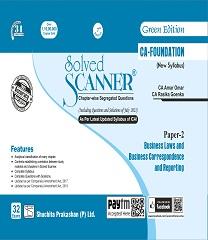 Shuchita Solved Scanner CA Foundation BLBCR By CA Amar Omar