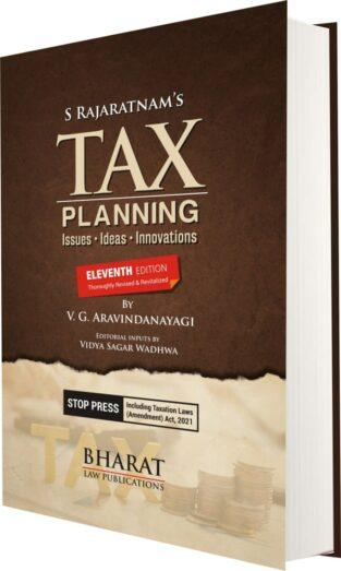 Bharat Law Publication Tax Planning Issues Ideas S Rajaratnam