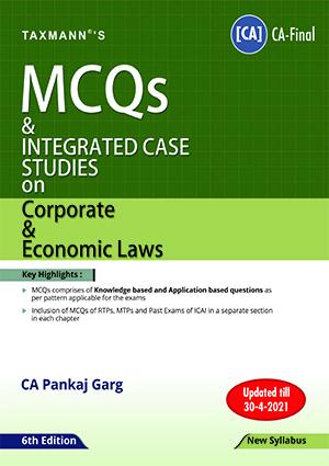 CA Final MCQs on Corporate & Economic Laws New By Pankaj Garg