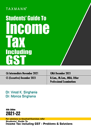 Guide Income Tax Including Service Tax VAT Monica Vinod K Singhania