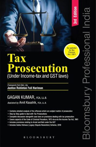 Bloomsbury Tax Prosecution Under Income-Tax and GST By Gagan Kumar