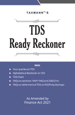 Taxmann TDS Ready Reckoner Edition April 2021 Makemydelivery
