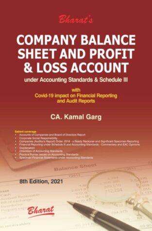 Bharat Company Balance Sheet and Profit & Loss Account Kamal Garg