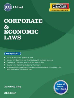 CA Final Cracker Corporate & Economic Laws New Syllabus Pankaj Garg