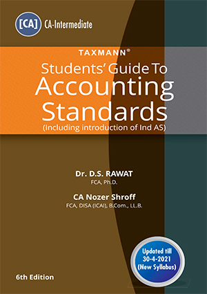 Taxmann CA Inter Students Guide Accounting Standards new syllabus
