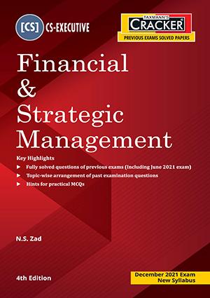 Taxmann Cracker Financial Strategic Management N S Zad