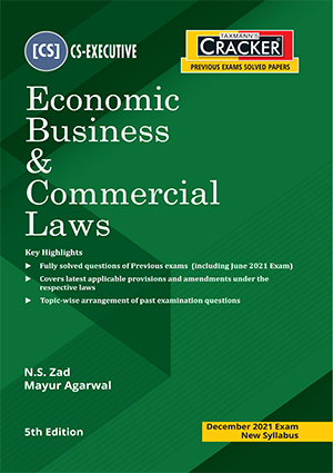 CS Executive Economic Business & Commercial Laws N S Zad