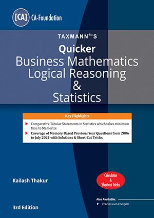 CA Foundation Quicker Business Mathematics Kailash Thakur