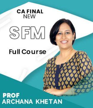 Video Lecture CA Final SFM (English) By Archana Khetan