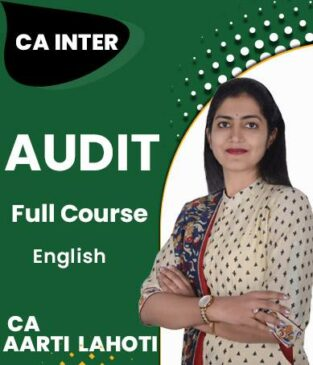 Video Lecture CA Inter Auditing Assurance New Syllabus CA Aarti Lahoti
