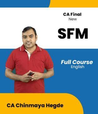 Video Lecture CA Final Strategic SFM Chinmaya Hegde
