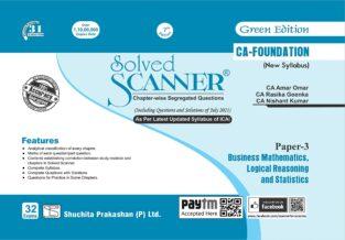 Shuchita Solved Scanner CA Foundation BMLRS By CA Amar Omar