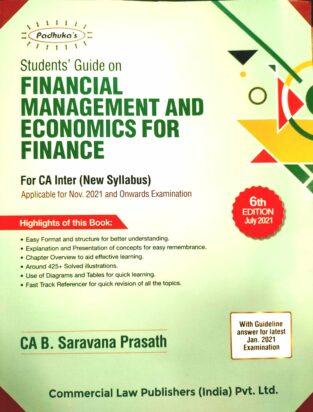 Commercial Padhuka Students Financial Management Economics Finance
