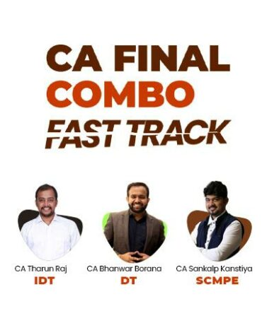 Video Lecture CA Final DT IDT and Costing Fast Track in English