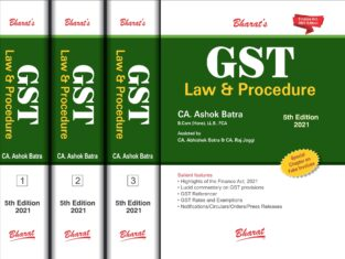 Goods and Service Tax Law & Procedure By CA Ashok Batra