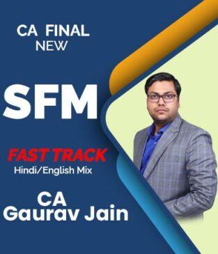Video Lecture CA Final SFM Fast Track by CA Gaurav Jainn