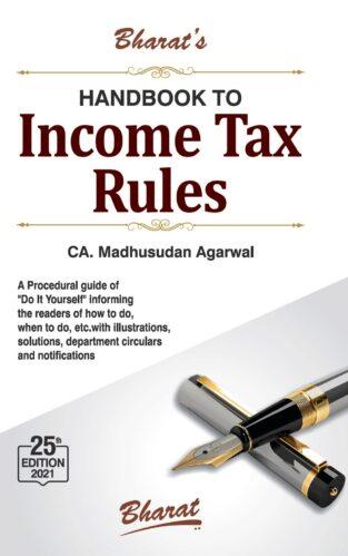 Bharat Handbook to Income Tax Rules By Madhusudan Agarwal