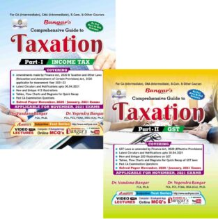 Guide Taxation Income Tax and GST Vandana Yogendra Bangar