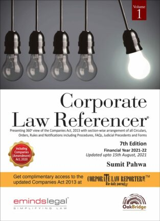 Oakbridge Corporate Law Referencer By Sumit Pahwa