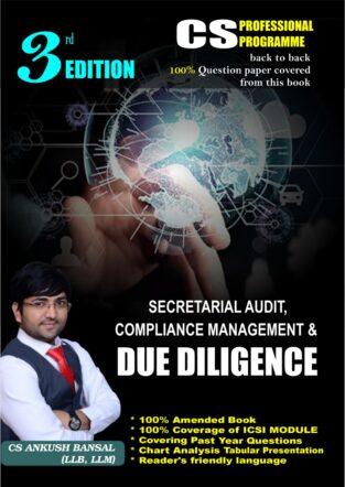 CS Final Secretarial Audit and Due Diligence New By Ankush Bansal