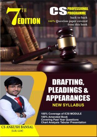MMD CS Professional Drafting Appearances Pleadings Ankush Bansal