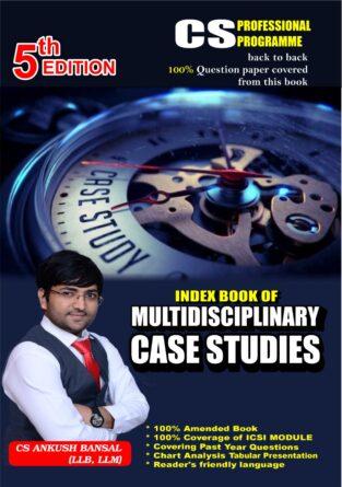 CS Final Learner Guide Multidisciplinary Case Studies By Ankush Bansal