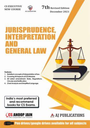 Aj publication Jurisprudence Interpretation and General Laws Anoop Jain