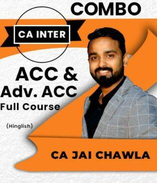 Inter Accounts and Advanced Accounts by Jai Chawla