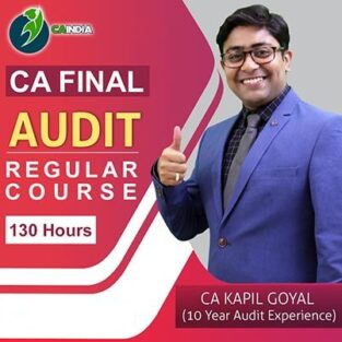 Video Lecture CA Final Audit Regular By New Syllabus By CA Kapil Goyal