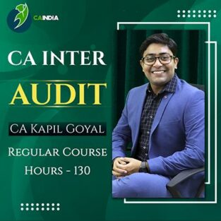 Video Lecture CA Inter Audit Regular Full Course CA Kapil Goyal