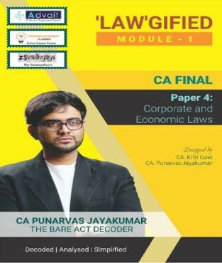 CA Final Corporate and Economic Laws By CA Punarvas Jayakumar