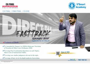 CA Final Direct Tax Fast Track Summary Book by CA Vijay Sarda