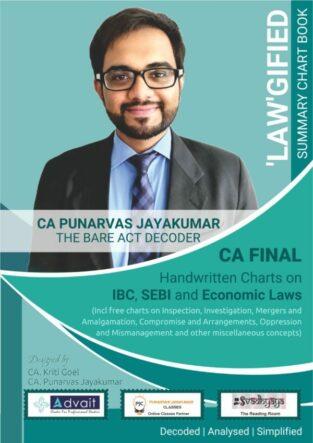 CA Final Corporate and Economic Laws Chart By CA Punarvas Jayakumar