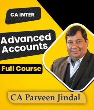 Video Lecture CA Inter Advance Accounts Parveen Jindal New Syllabus